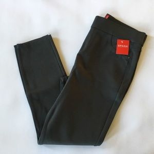 Spanx Perfect 4 Pocket Ponte Pant L Gray HTF Color